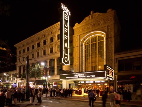 The Buffalo Theater, site of Curtain Up! performances