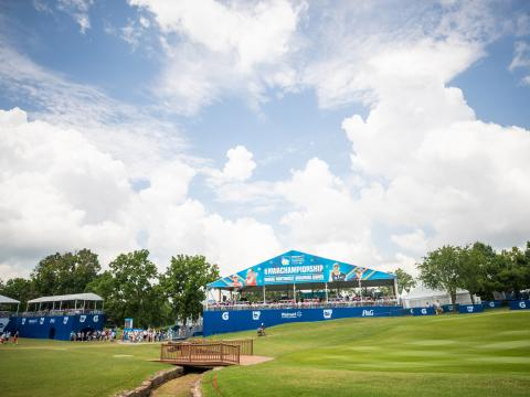 The NW Arkansas Championship, a stop on the LPGA Tour, in Rogers, Arkansas