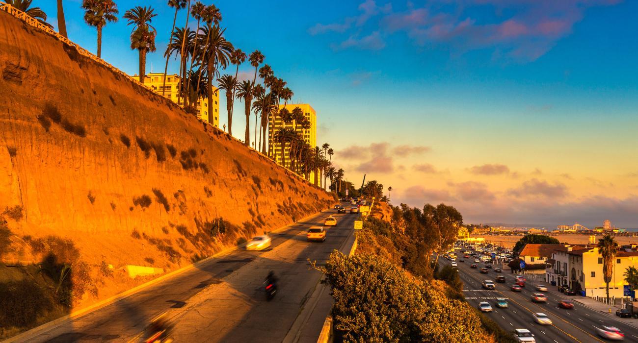 California foodie road trip cruise pch coastal highway 1 - Residence santa monica canyon en californie ...